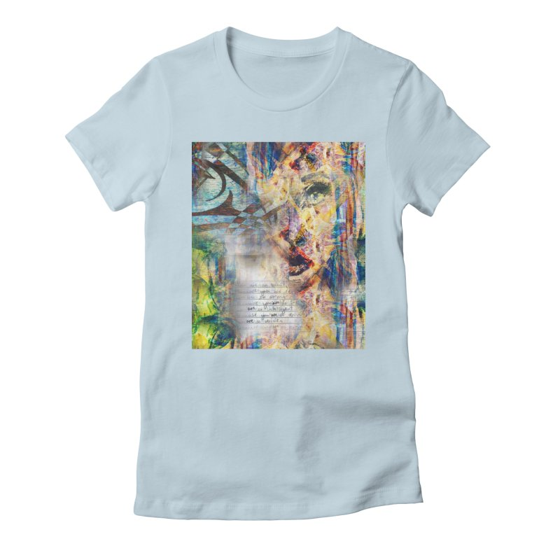 Because Women's Fitted T-Shirt by wearARTis blakereflected