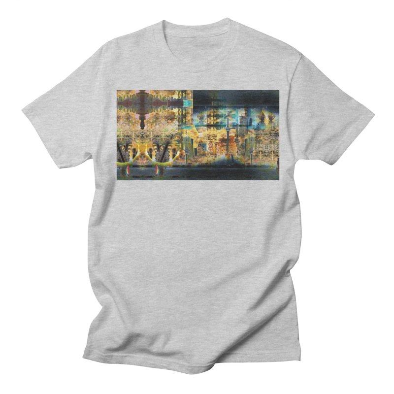 Eclipse In The Sky Men's Regular T-Shirt by wearARTis blakereflected