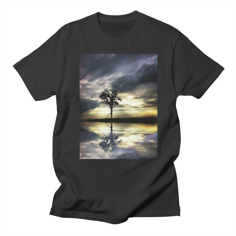 Beauty In Everything Men's Regular T-Shirt by wearARTis blakereflected