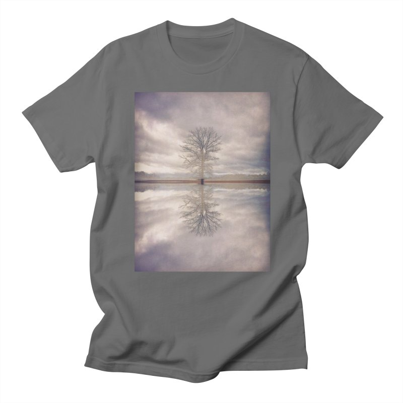 Standing In Water Men's T-Shirt by wearARTis blakereflected
