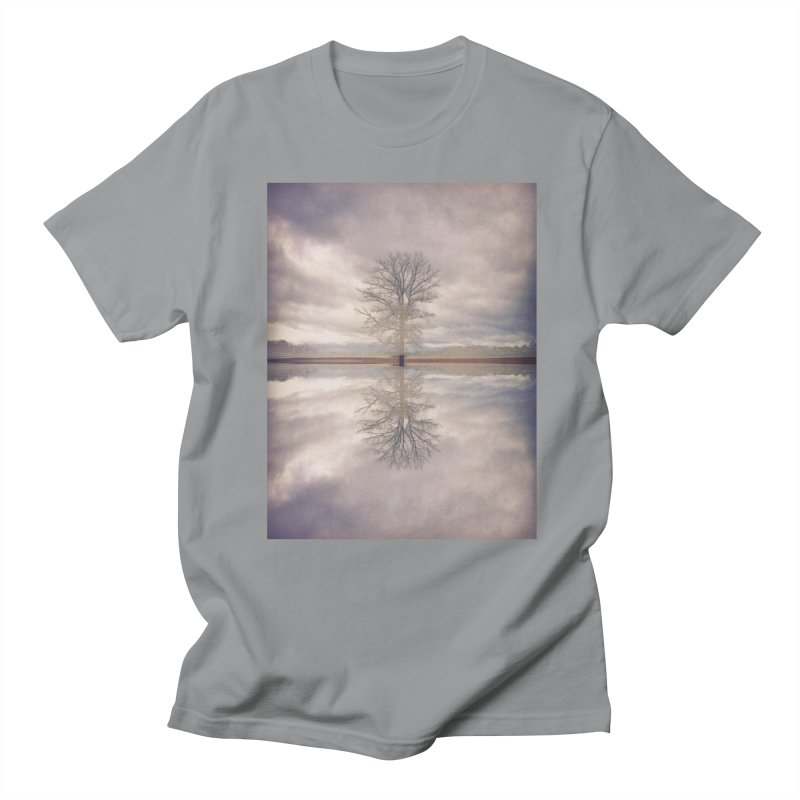 Standing In Water Men's Regular T-Shirt by wearARTis blakereflected