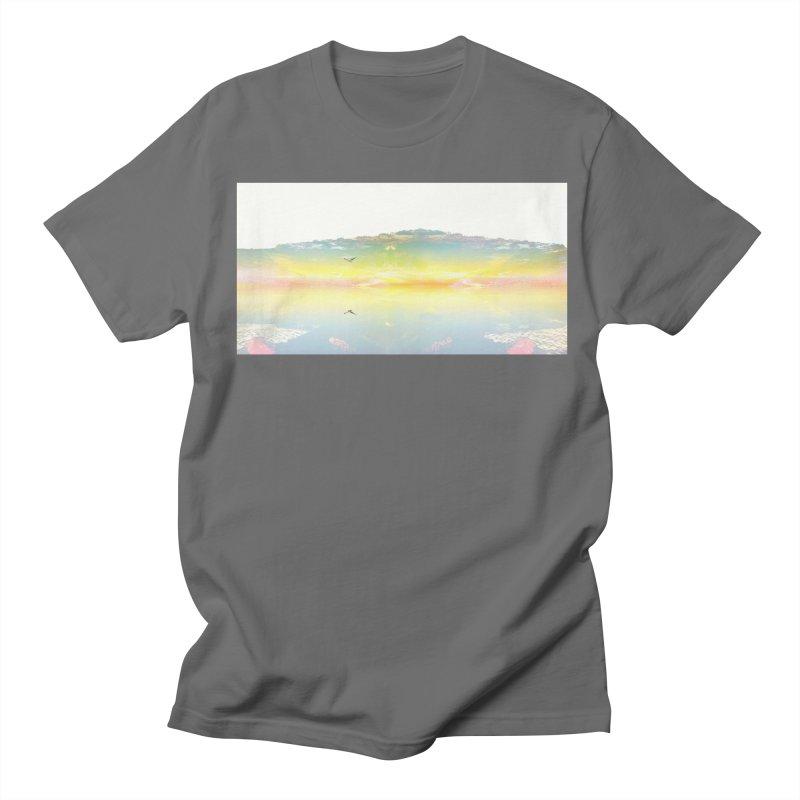 Dreaming While Awake Men's T-Shirt by wearARTis blakereflected