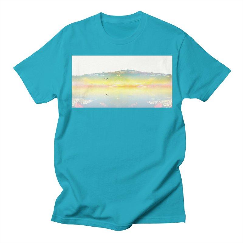 Dreaming While Awake Men's Regular T-Shirt by wearARTis blakereflected