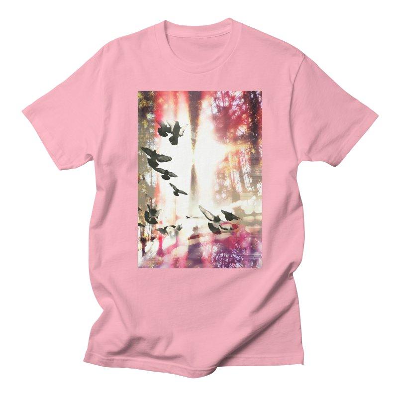 Spirit Flight Men's Regular T-Shirt by wearARTis blakereflected