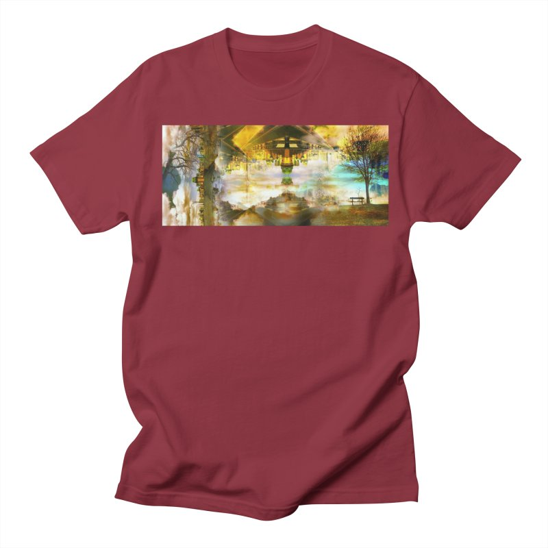 No One Even Watches Men's T-Shirt by wearARTis blakereflected