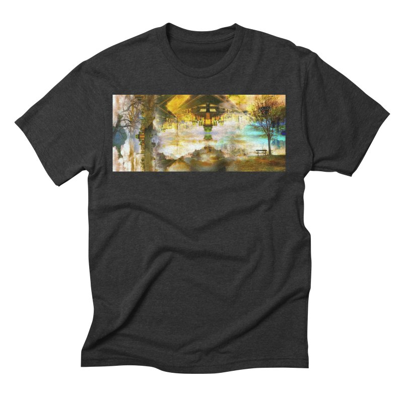 No One Even Watches Men's Triblend T-Shirt by wearARTis blakereflected