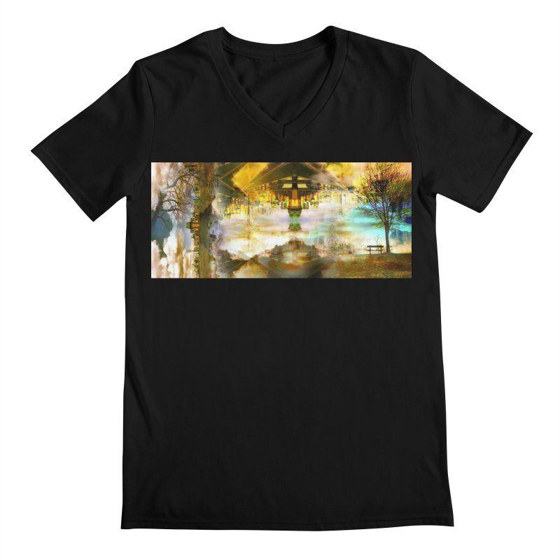 No One Even Watches Men's Regular V-Neck by wearARTis blakereflected