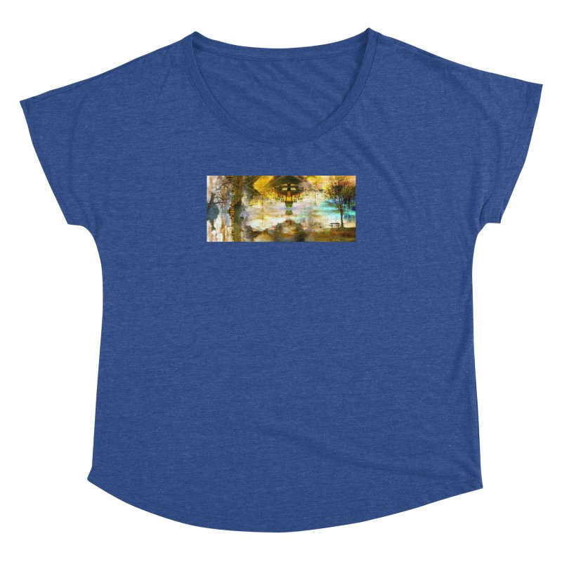 No One Even Watches Women's Dolman Scoop Neck by wearARTis blakereflected