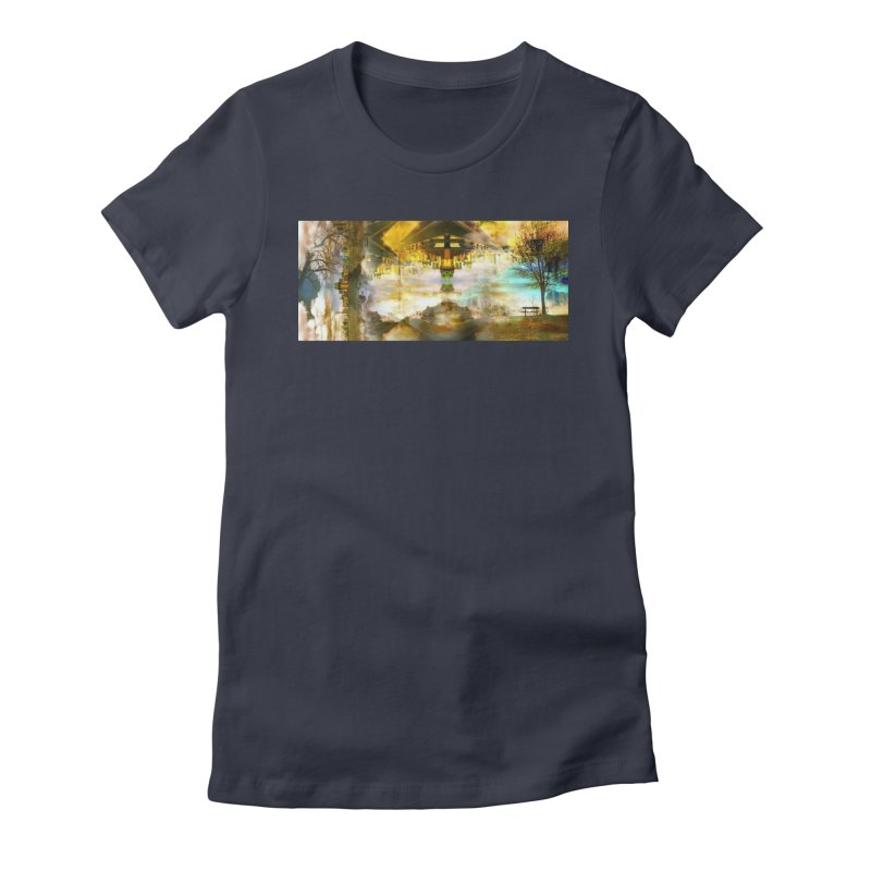 No One Even Watches Women's Fitted T-Shirt by wearARTis blakereflected