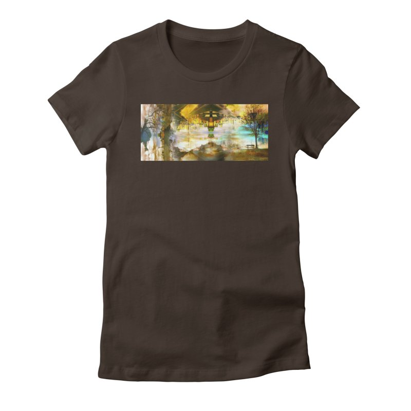 No One Even Watches Women's T-Shirt by wearARTis blakereflected