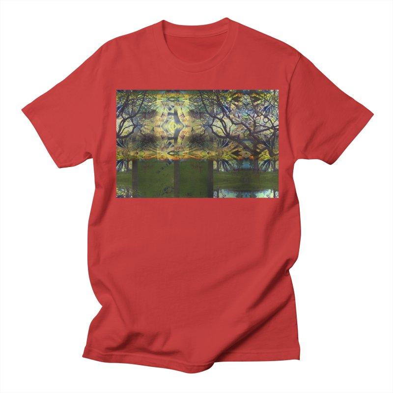 Holding A Golden Sun Men's T-Shirt by wearARTis blakereflected