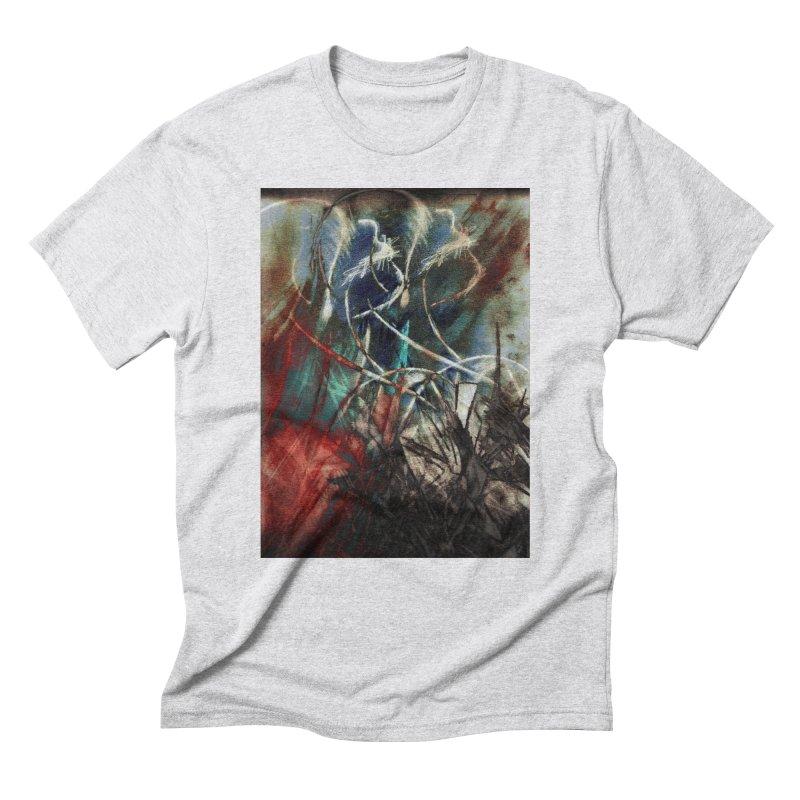 Separation Men's Triblend T-Shirt by wearARTis blakereflected