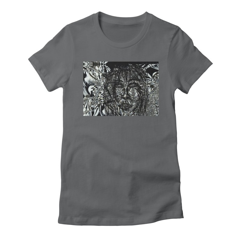 Breaking Women's Fitted T-Shirt by wearARTis blakereflected