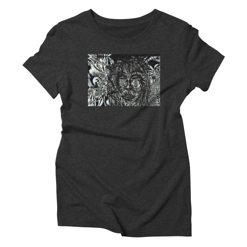Breaking Women's Triblend T-Shirt by wearARTis blakereflected