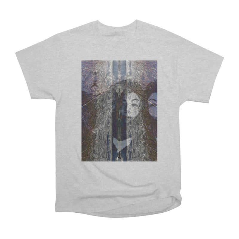 Imagining Women's Heavyweight Unisex T-Shirt by wearARTis blakereflected