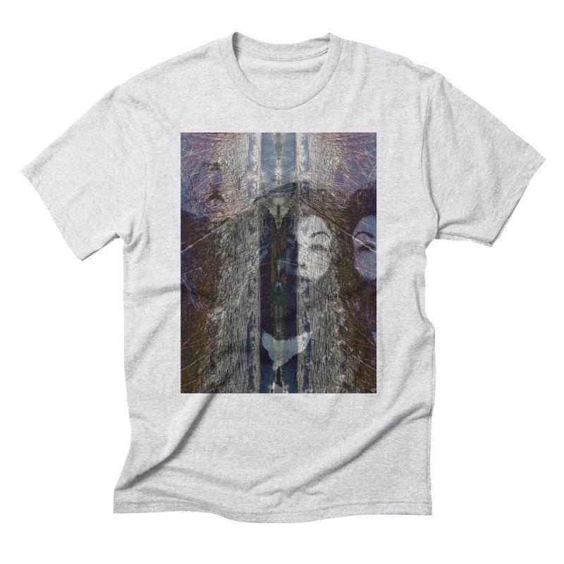 Imagining Men's Triblend T-Shirt by wearARTis blakereflected