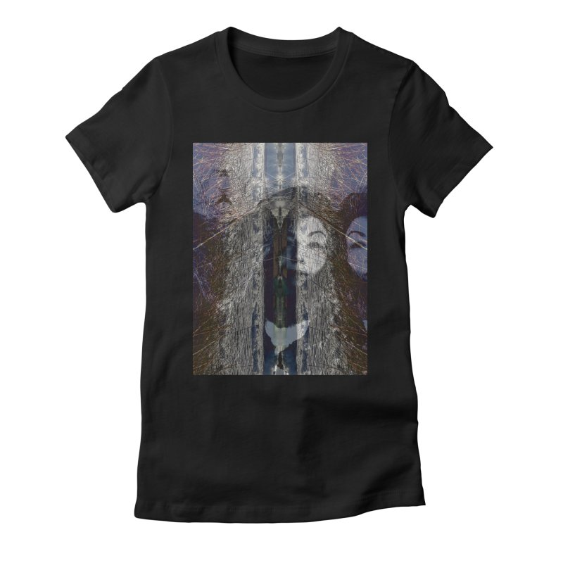 Imagining Women's T-Shirt by wearARTis blakereflected