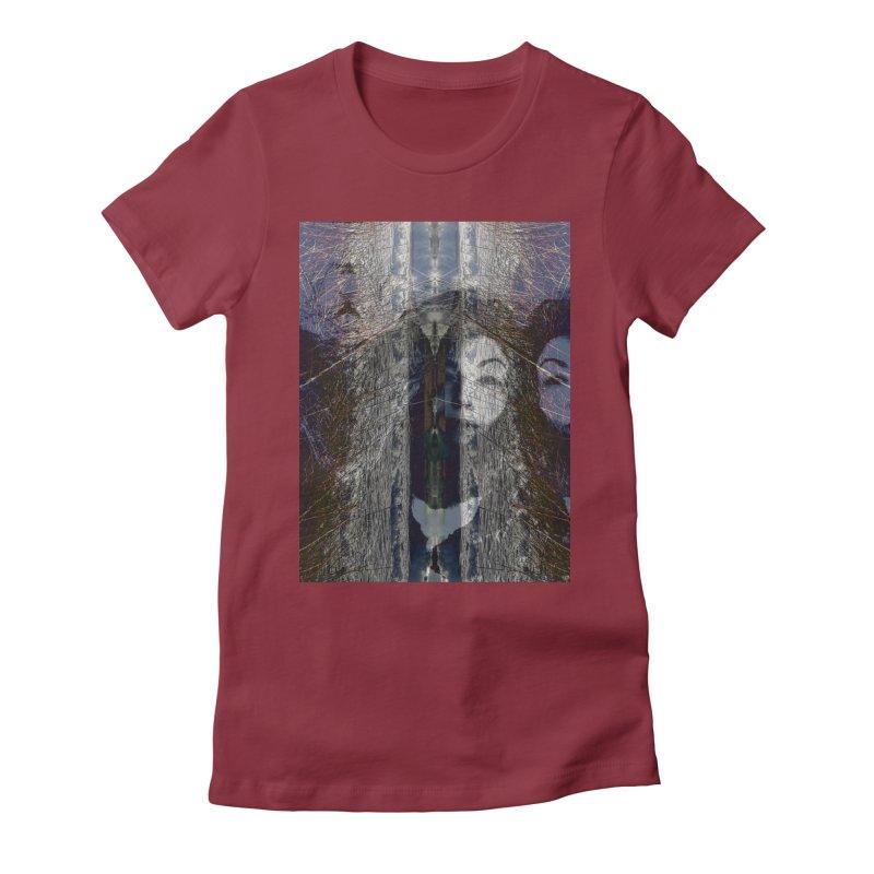Imagining Women's T-Shirt by wearARTis blakereflected