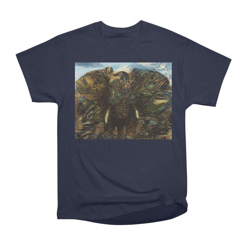 Elephant Men's Heavyweight T-Shirt by wearARTis blakereflected