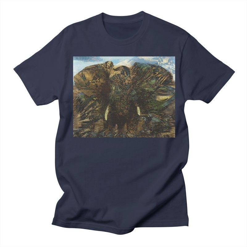 Elephant Men's T-Shirt by wearARTis blakereflected