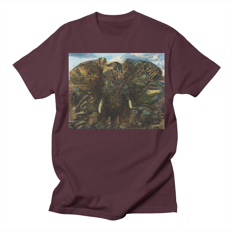 Elephant Men's Regular T-Shirt by wearARTis blakereflected