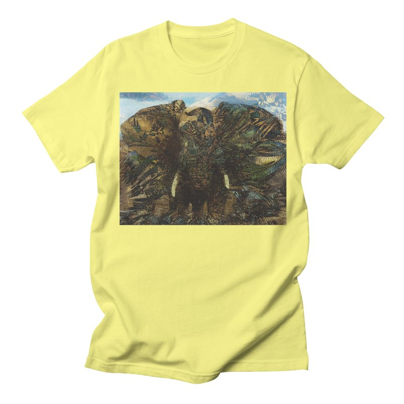 Elephant Women's Regular Unisex T-Shirt by wearARTis blakereflected