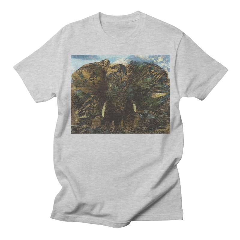 Elephant Men's Regular T-Shirt by wearARTis blakereflected