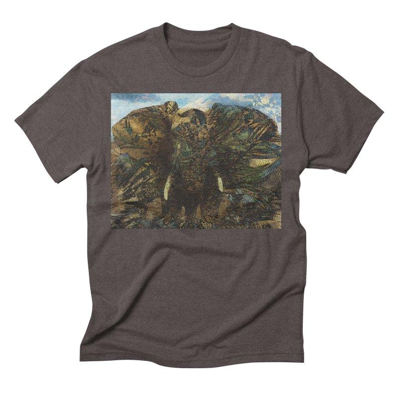 Elephant Men's Triblend T-Shirt by wearARTis blakereflected