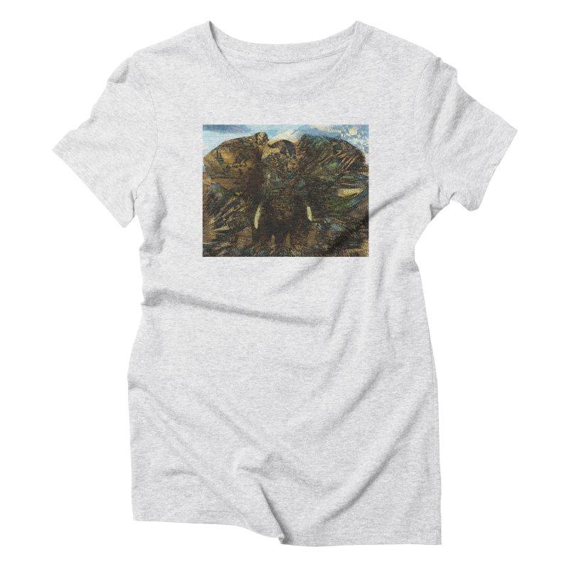 Elephant Women's T-Shirt by wearARTis blakereflected