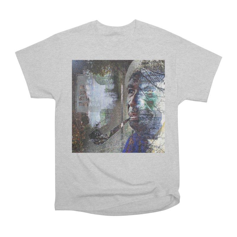 Watchful Eyes Men's Heavyweight T-Shirt by wearARTis blakereflected