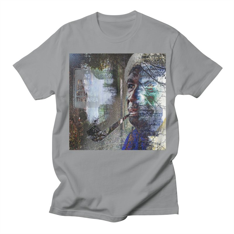 Watchful Eyes Men's Regular T-Shirt by wearARTis blakereflected