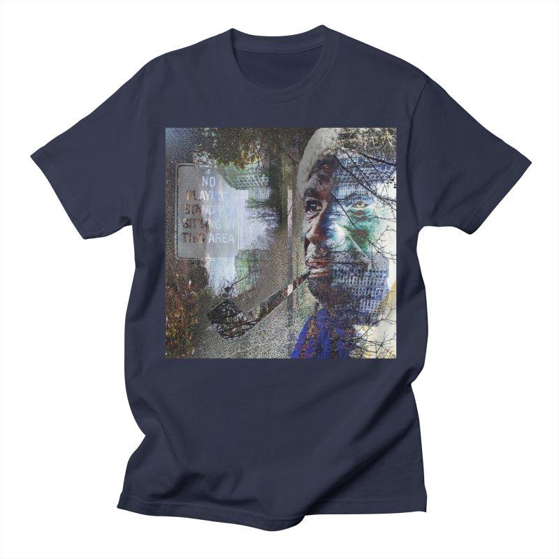 Watchful Eyes Men's T-Shirt by wearARTis blakereflected