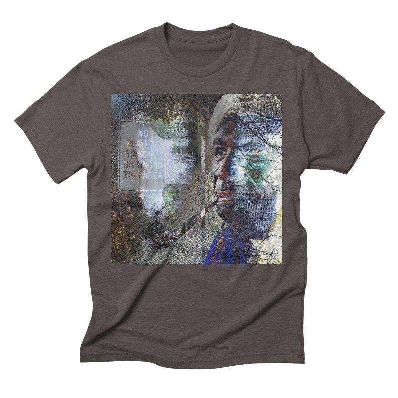 Watchful Eyes Men's Triblend T-Shirt by wearARTis blakereflected