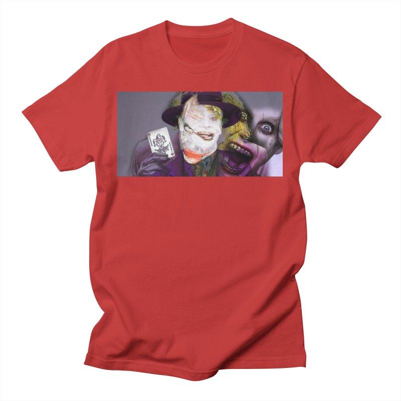 HA HA HA Men's T-Shirt by wearARTis blakereflected