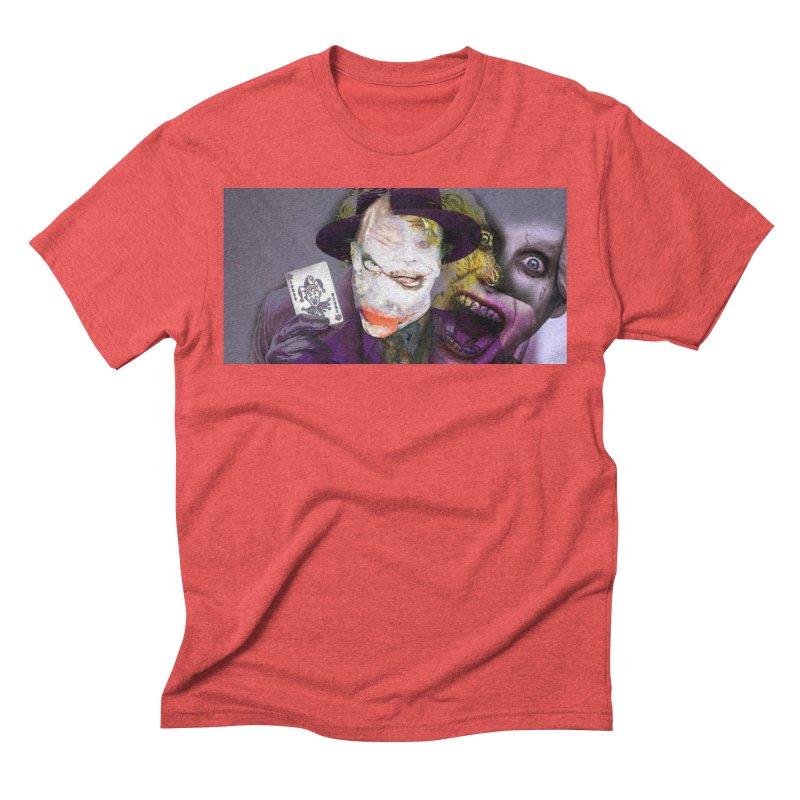 HA HA HA Men's Triblend T-Shirt by wearARTis blakereflected