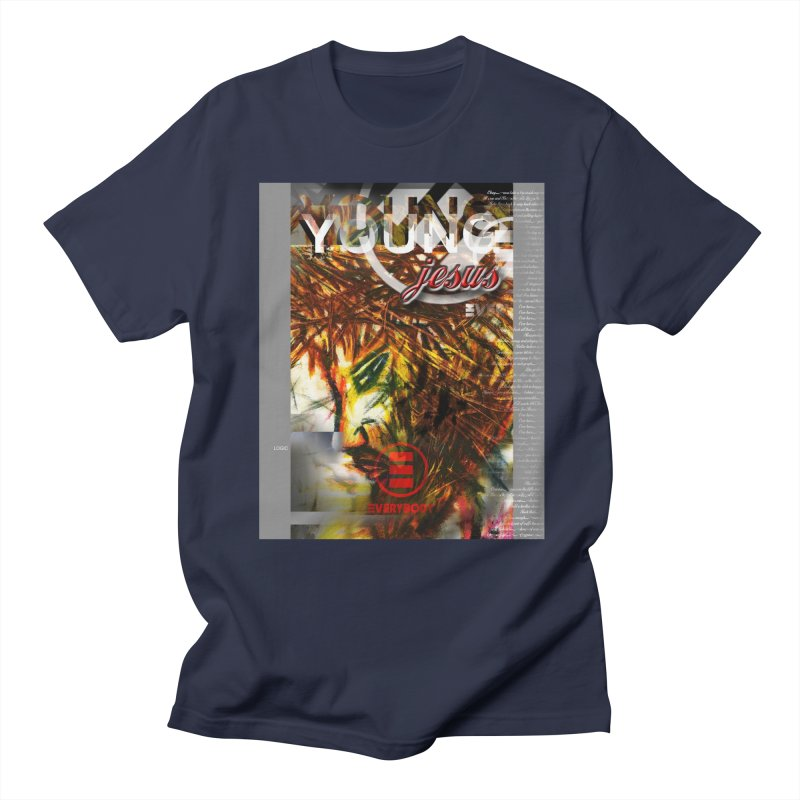 YOUNG jesus Men's T-Shirt by wearARTis blakereflected