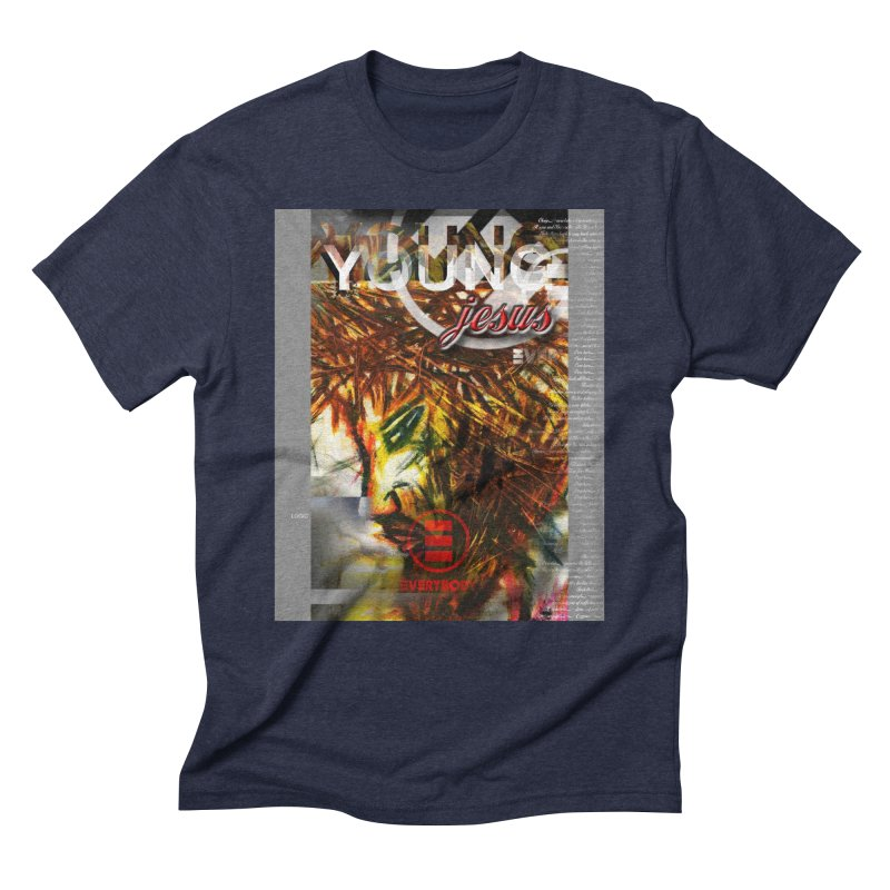 YOUNG jesus Men's Triblend T-Shirt by wearARTis blakereflected