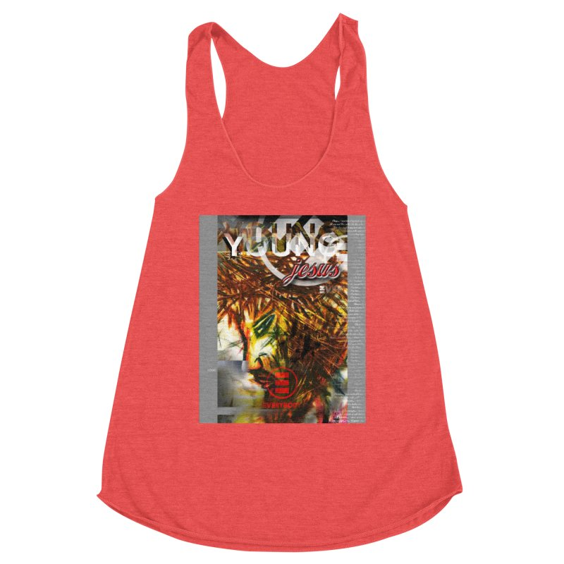 YOUNG jesus Women's Tank by wearARTis blakereflected