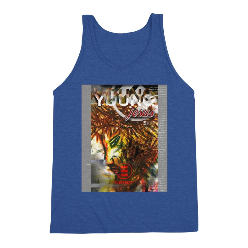 YOUNG jesus Men's Tank by wearARTis blakereflected