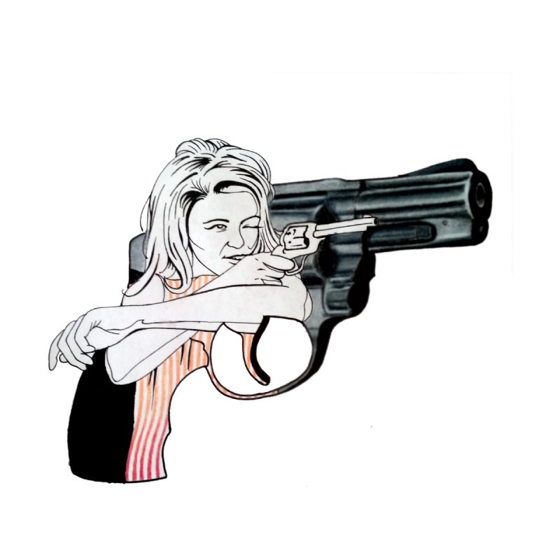 Jamie's Got a Gun by Blake Wood Ink