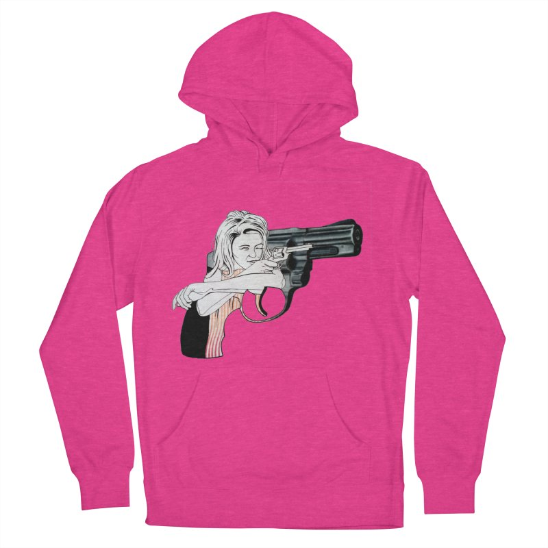 Jamie's Got a Gun Women's Pullover Hoody by Blake Wood Ink