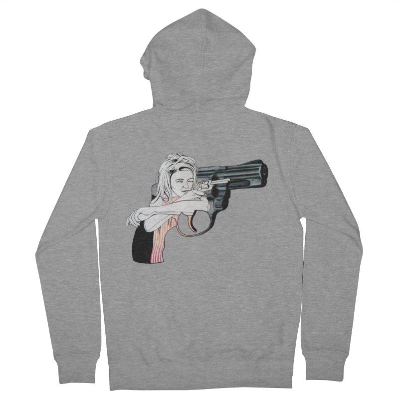 Jamie's Got a Gun Men's Zip-Up Hoody by Blake Wood Ink