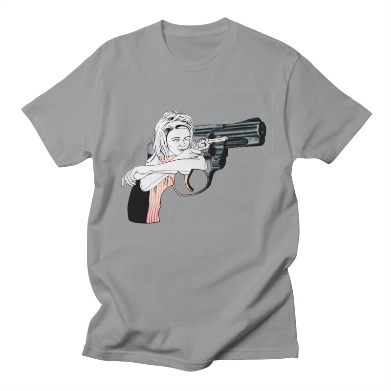 Jamie's Got a Gun Women's Unisex T-Shirt by Blake Wood Ink