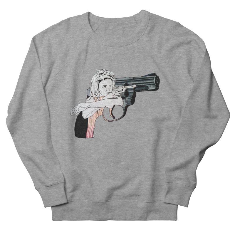 Jamie's Got a Gun Women's Sweatshirt by Blake Wood Ink