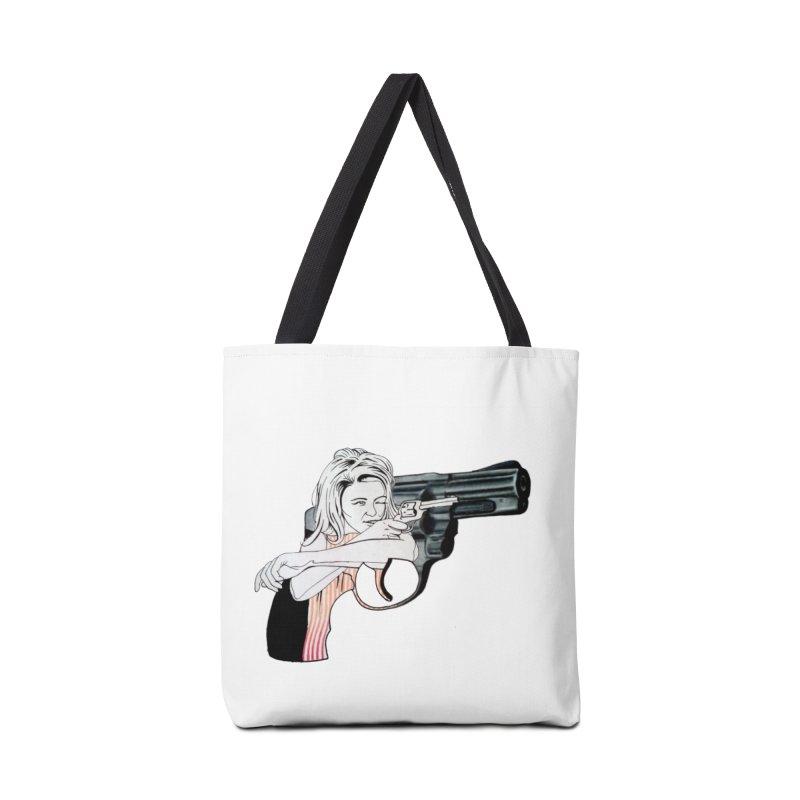 Jamie's Got a Gun Accessories Bag by Blake Wood Ink