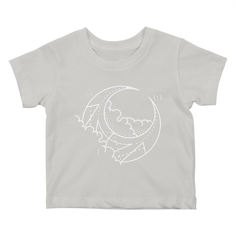 Luna Negra Kids Baby T-Shirt by Blake Wood Ink