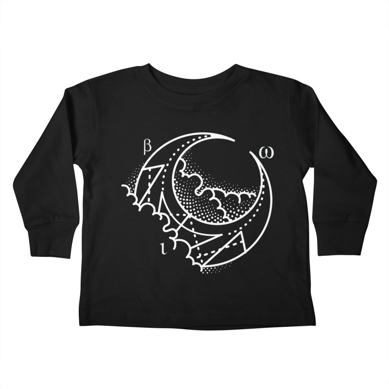 Luna Negra Kids Toddler Longsleeve T-Shirt by Blake Wood Ink