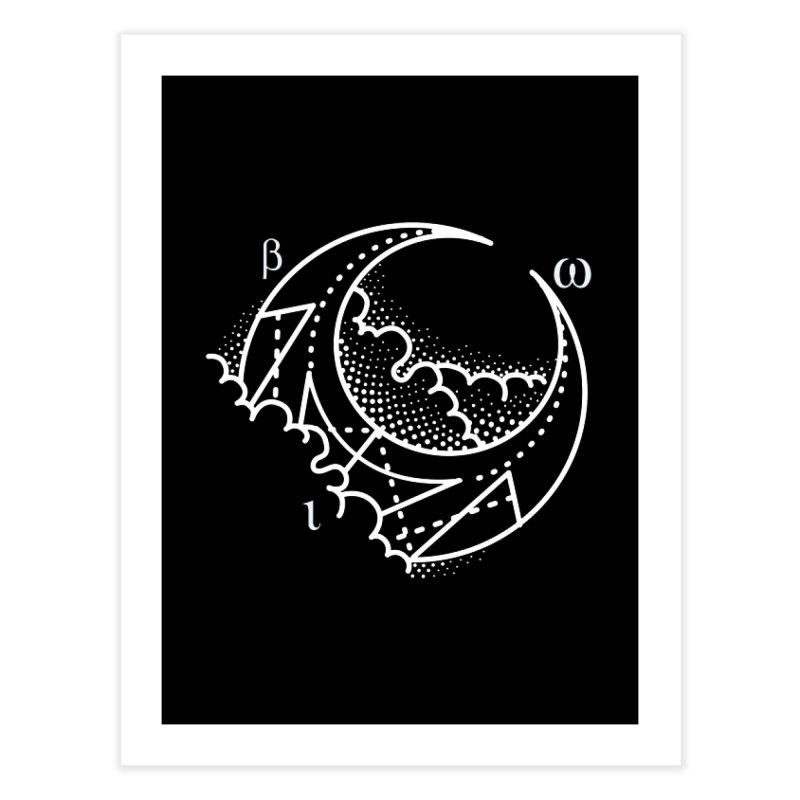 Luna Negra Home Fine Art Print by Blake Wood Ink