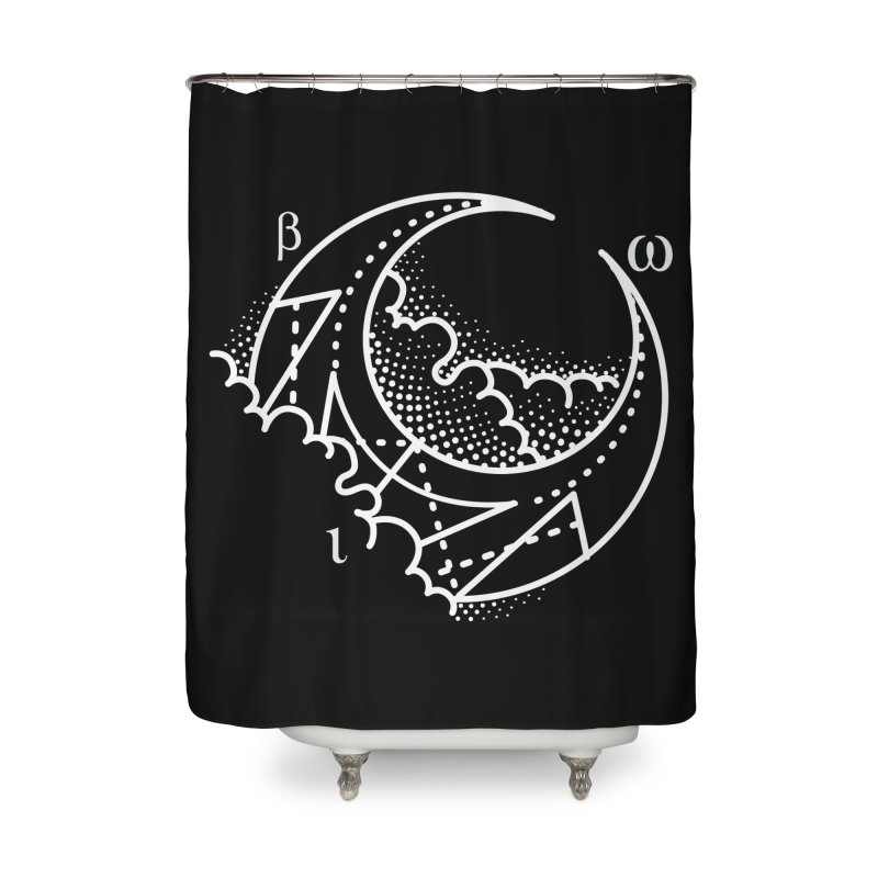 Luna Negra Home Shower Curtain by Blake Wood Ink
