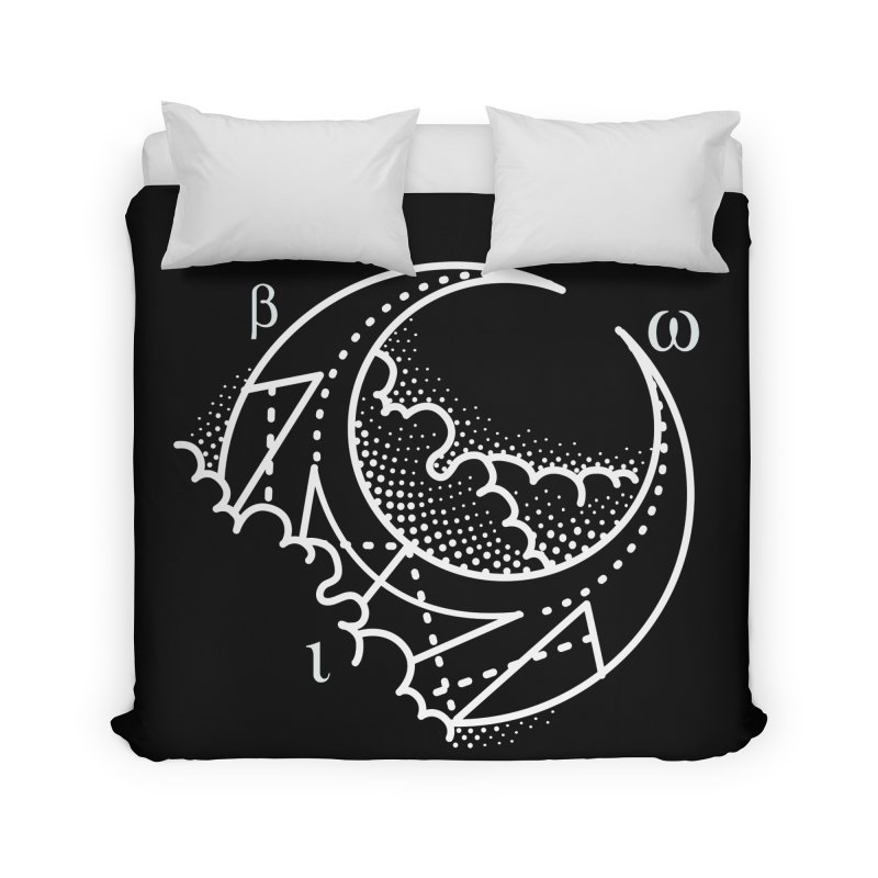 Luna Negra Home Duvet by Blake Wood Ink